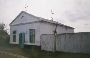 1. Старый храм в момент назначения постоянного настоятеля 2000 г.